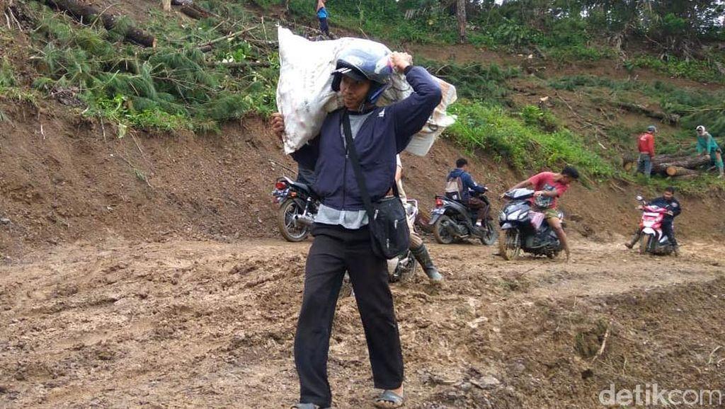 Gara-gara Longsor, Harga Bahan Pokok di 4 Desa Banjarnegara Naik