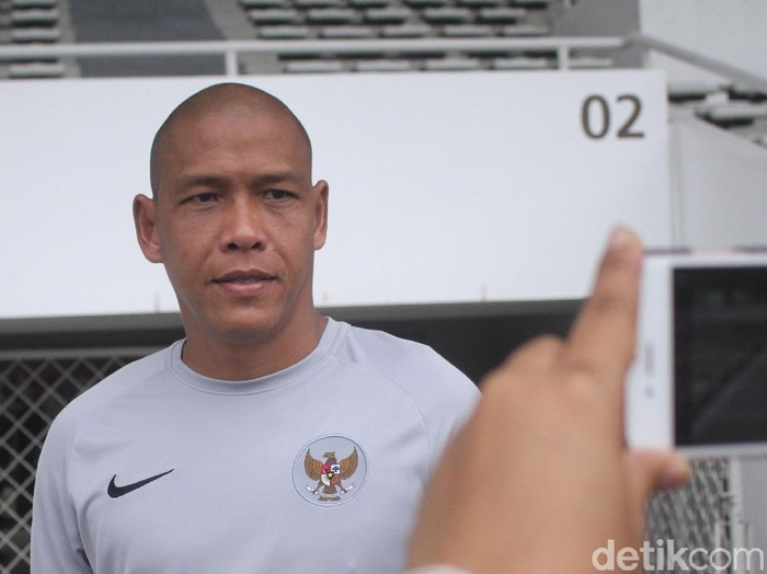 Nova Arianto, asisten pelatih Timnas Indonesia U-22
