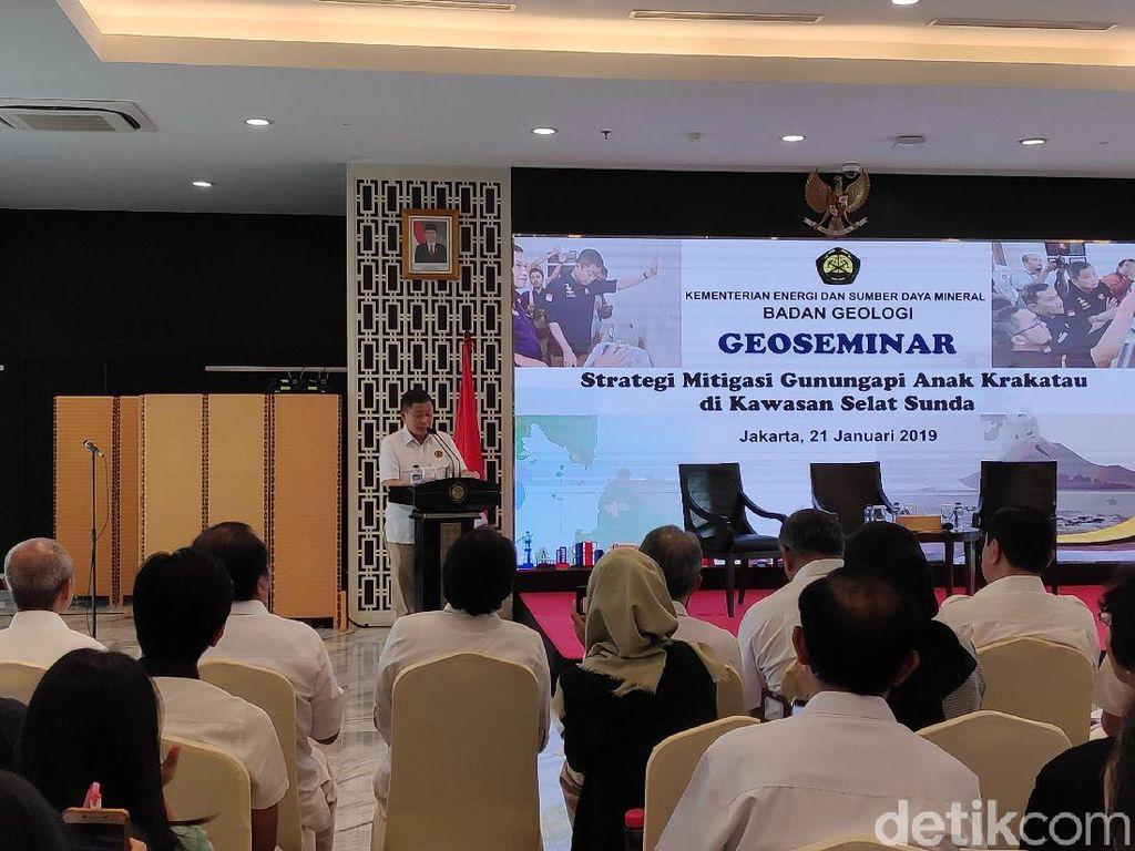 ESDM akan Pasang Alat Mitigasi Pantau Aktivitas Gunung Anak Krakatau