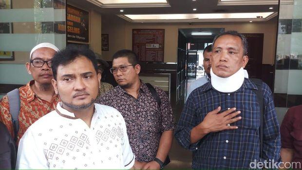 Ali Wardi melapor ke Polres Metro Jakarta Selatan