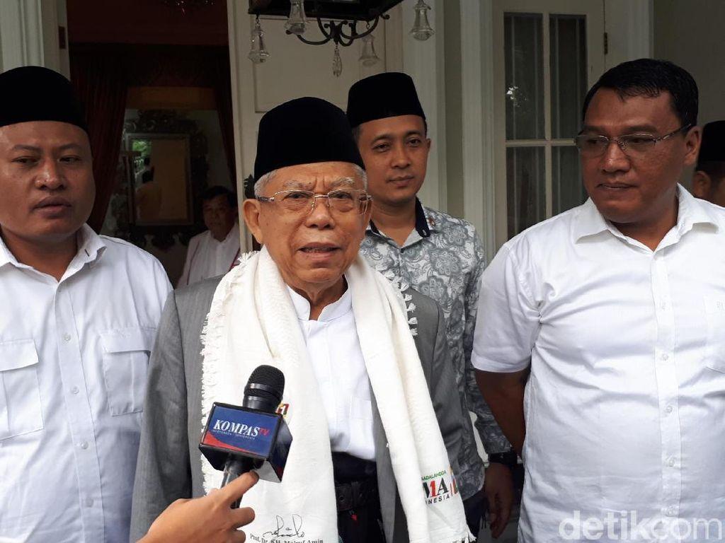 Maruf Amin soal Pembebasan Baasyir: Urusan Indonesia