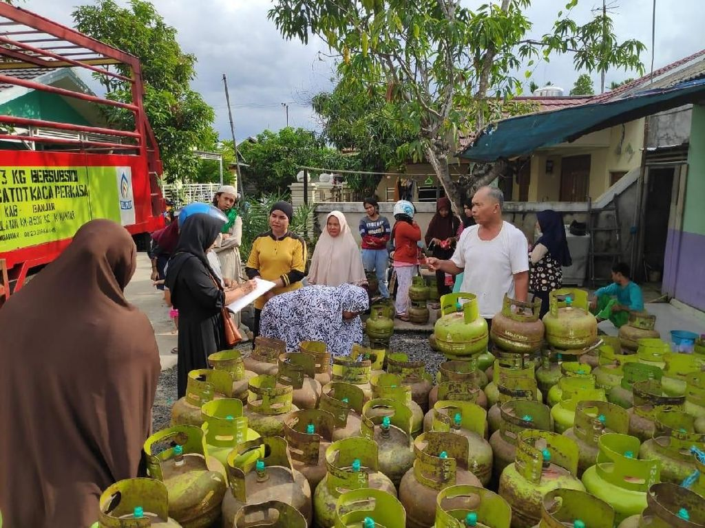 Pertamina Imbau Warga Kalsel Beli LPG di Pangkalan Resmi