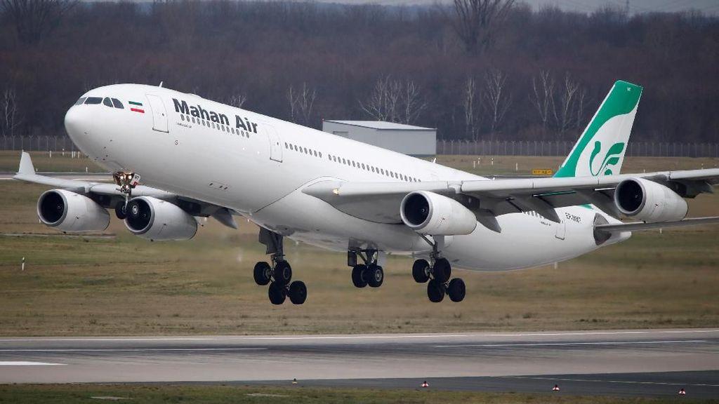 Jerman Larang Izin Terbang Maskapai Iran di Wilayahnya