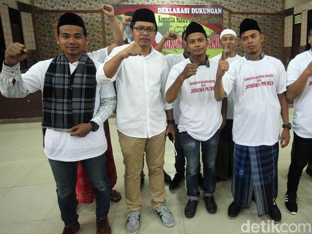 Warga Madura di Jakarta Deklarasi Dukung Jokowi-Maruf Amin