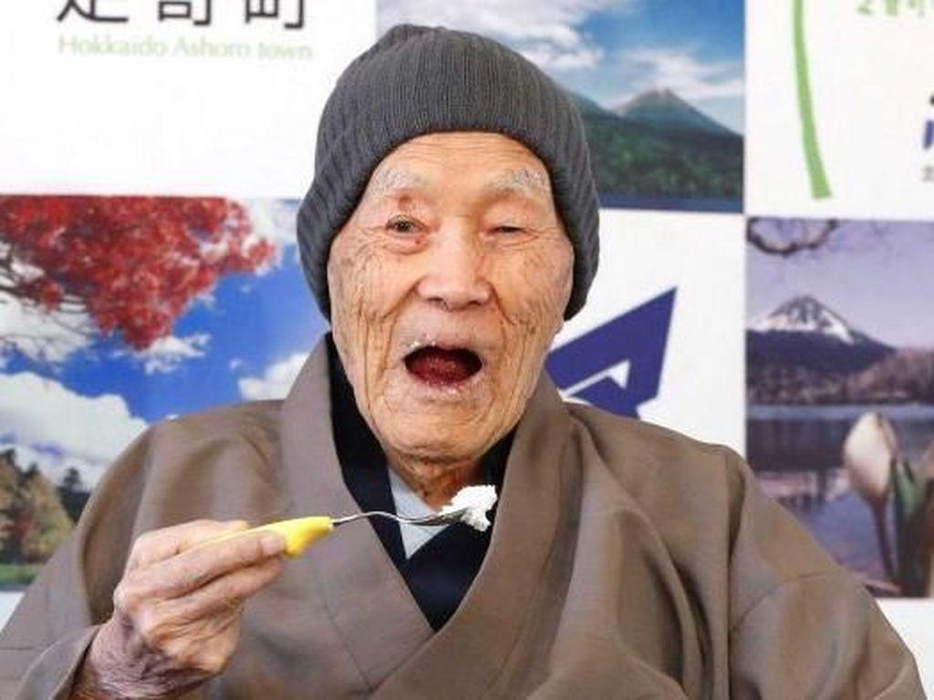 Manusia Tertua di Dunia Masazo Nonaka Meninggal di Usia 113 Tahun