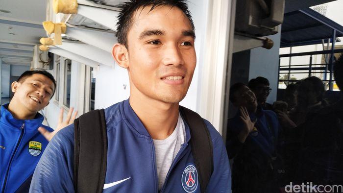 Zalnando berlatih perdana di Persib Bandung, Senin (21/1).