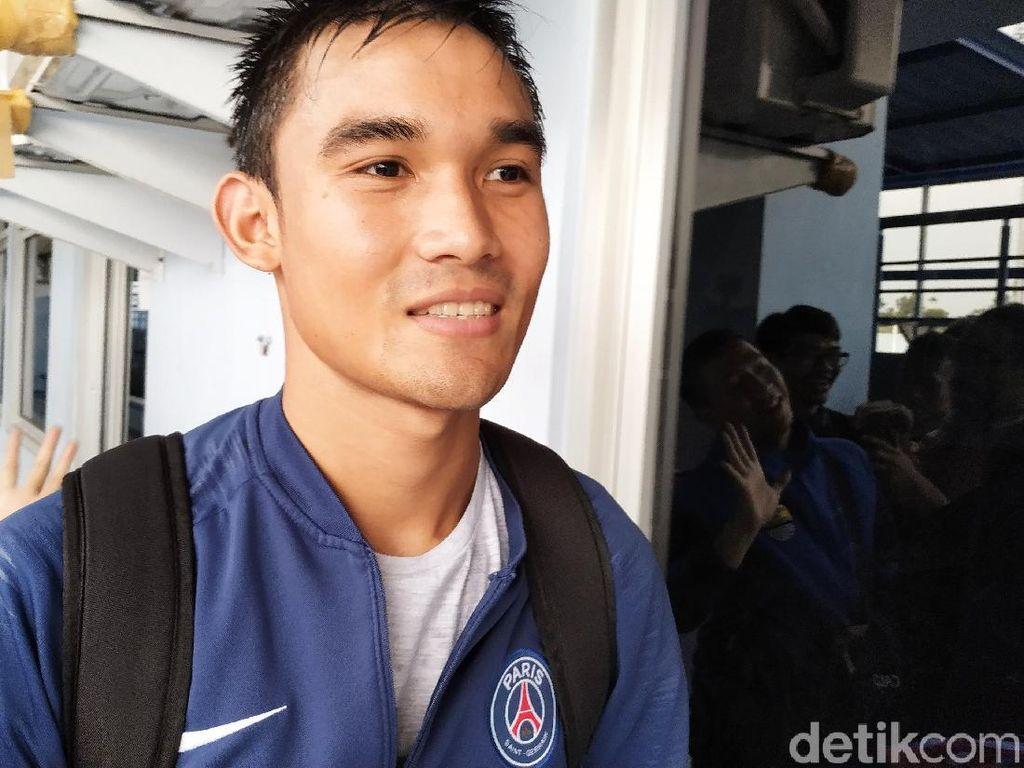 Zalnando Tak sabar Jalani Debut Bersama Persib Bandung