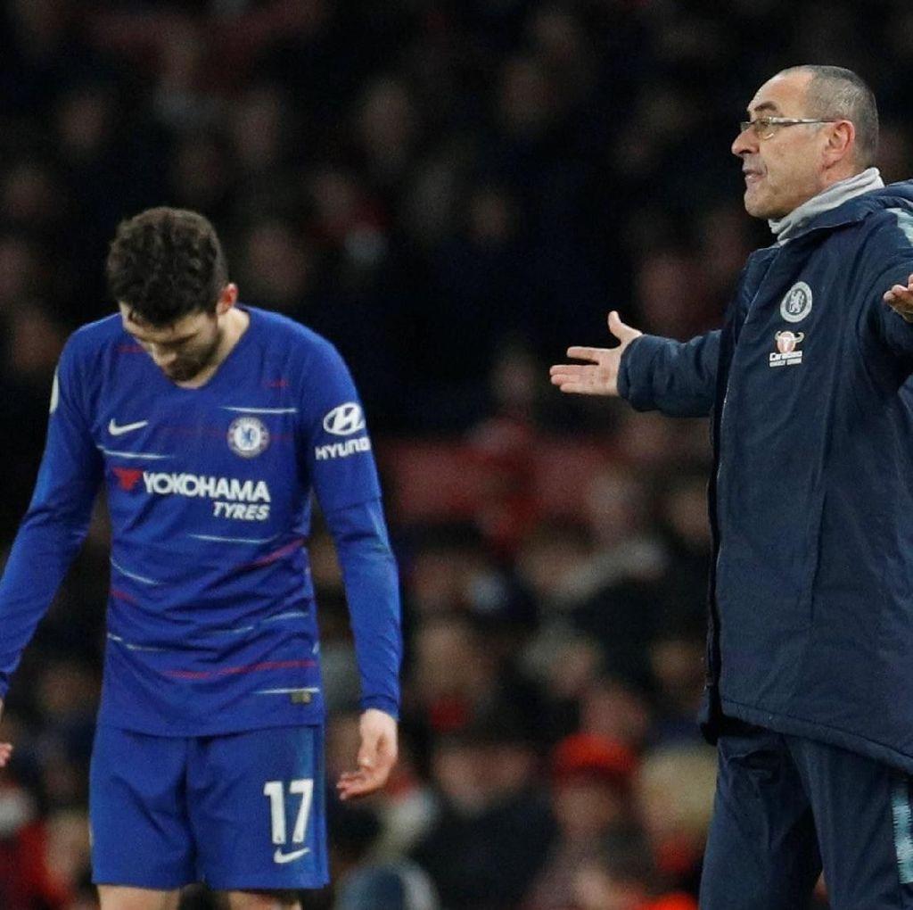 Meski Dikritik, Pemain Chelsea Dukung Penuh Sarri