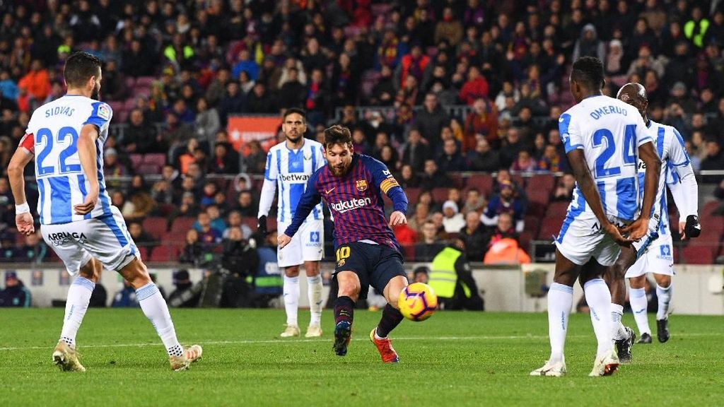 Messi Supersub Tertajam di La Liga