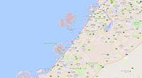 Lokasi The World (Screenshot Google Maps)