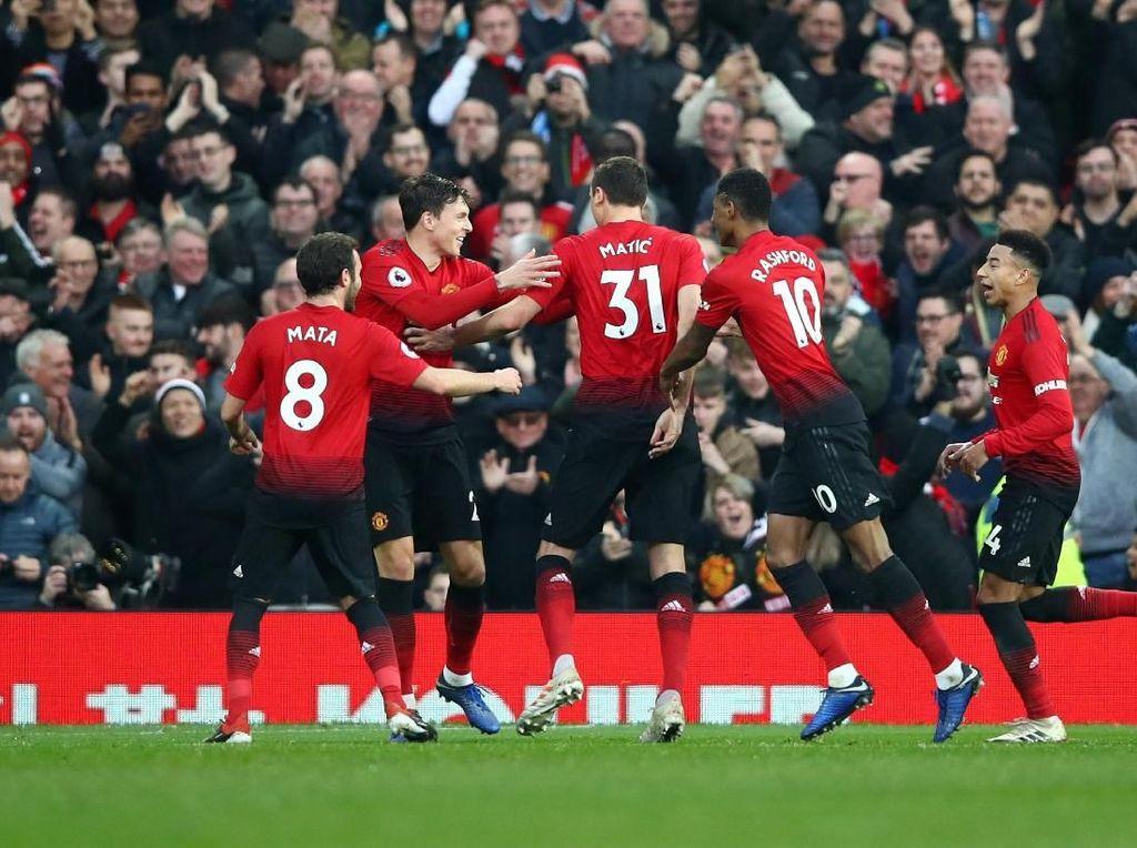 Incar Kemenangan Kedelapan Beruntun, MU Bidik Arsenal