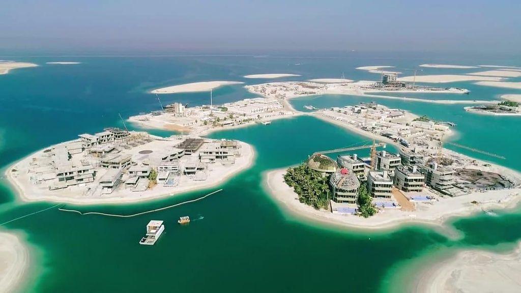 Foto: Mega Resor di Dubai Senilai Rp 71 T