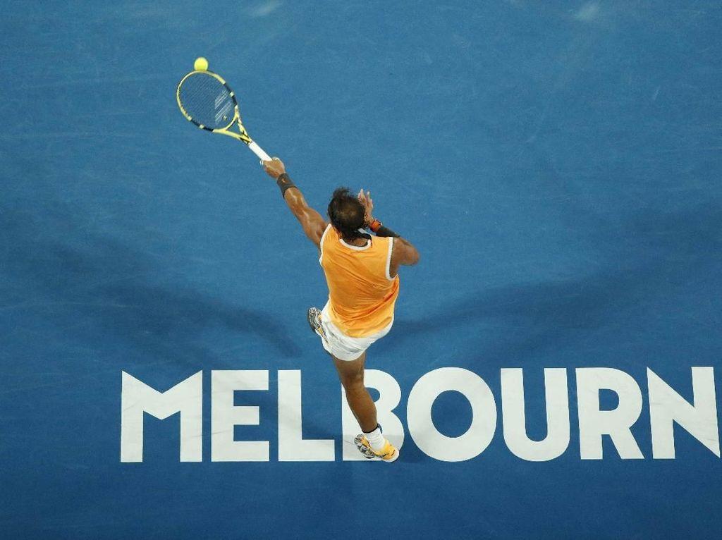 Nadal Belum Kehilangan Set, Lolos ke Semifinal Australia Terbuka