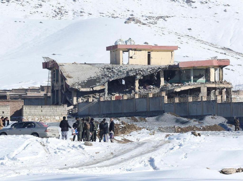Serangan Taliban di Markas Intelijen Afghanistan Tewaskan 65 Orang