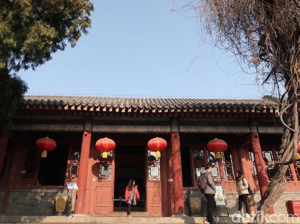 Foto: Kediaman Raja di Kelenteng Tertua China