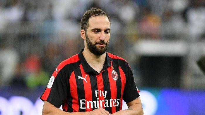 Gonzalo Higuain masih buntu jalannya ke Chelsea (Waleed Ali/REUTERS)
