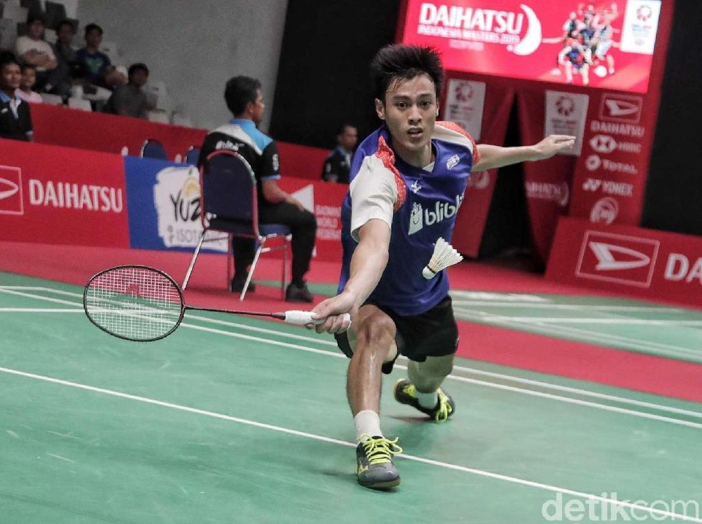 Rhustavito Melangkah ke Babak Utama Indonesia Masters 2019