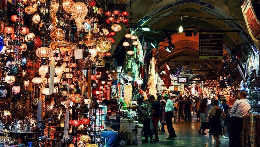 Mengintip Megahnya Grand Bazzar Turki, Pasar Tertua dan Terbesar di Dunia