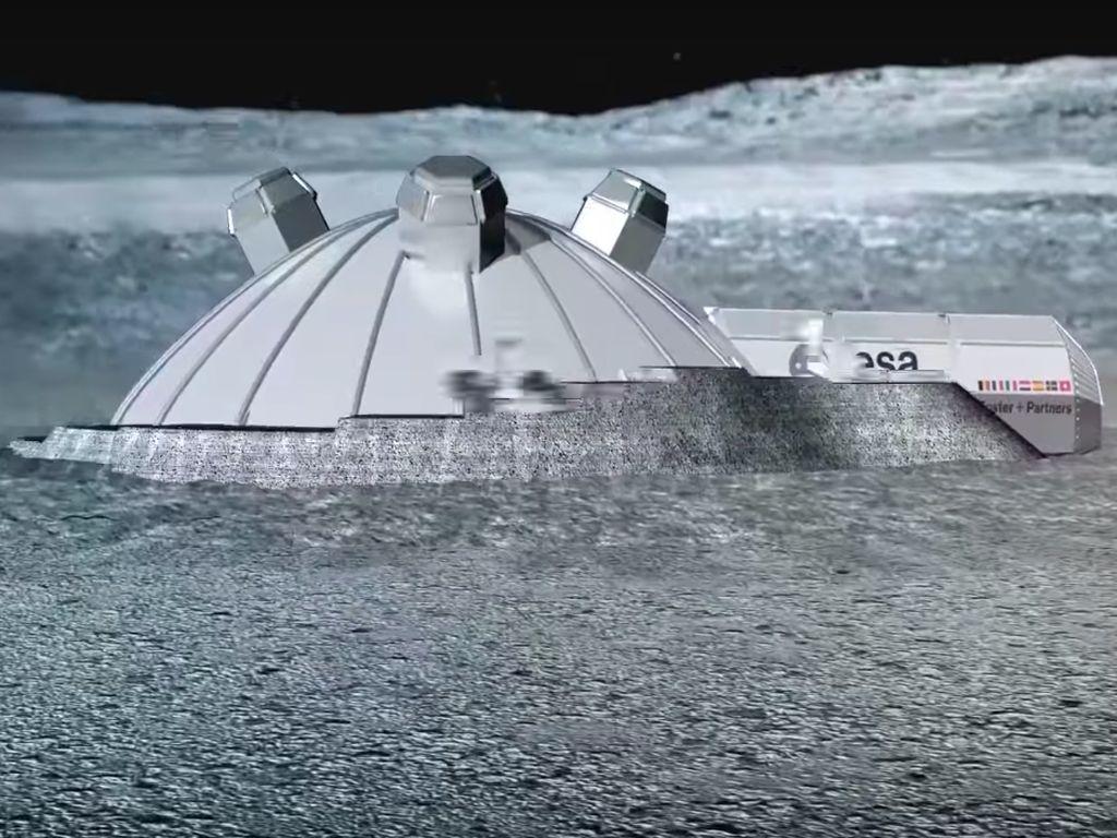 Ilmuwan Mulai Pikirkan Cara Bikin Koloni Bawah Tanah di Bulan