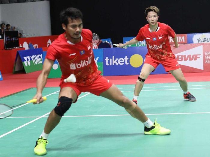 Tontowi Ahmad/Liliyana Natsir di Indonesia Masters 2019. (Foto: dok. PBSI)
