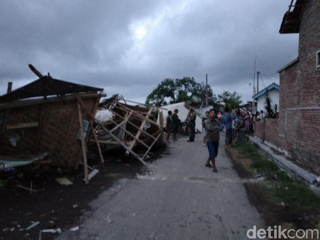 3 Kali Diterjang Puting Beliung, 81 Rumah di Probolinggo Rusak