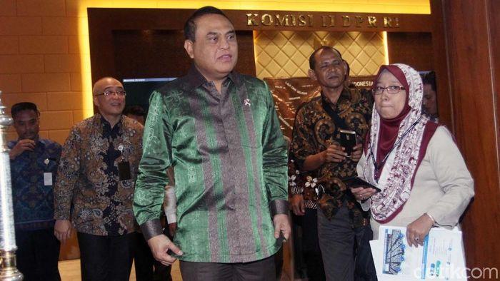 Menteri PAN RAB, Syafruddin (Lamhot Aritonang/detikSport)