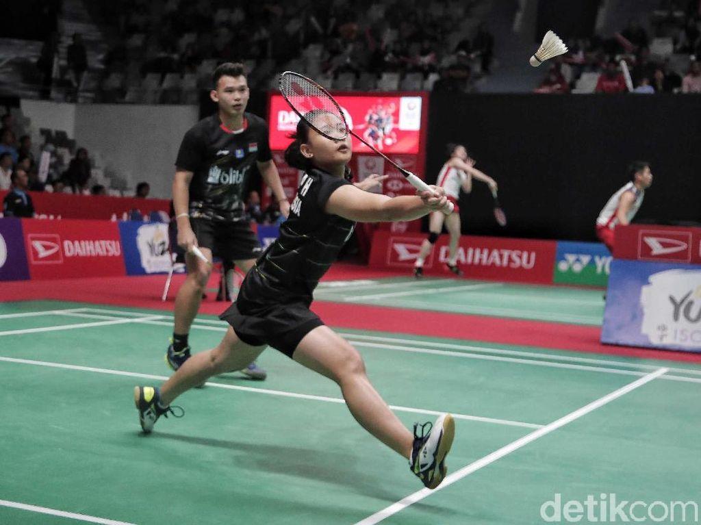 Rinov/Mentari Terhenti di Semifinal Korea Open