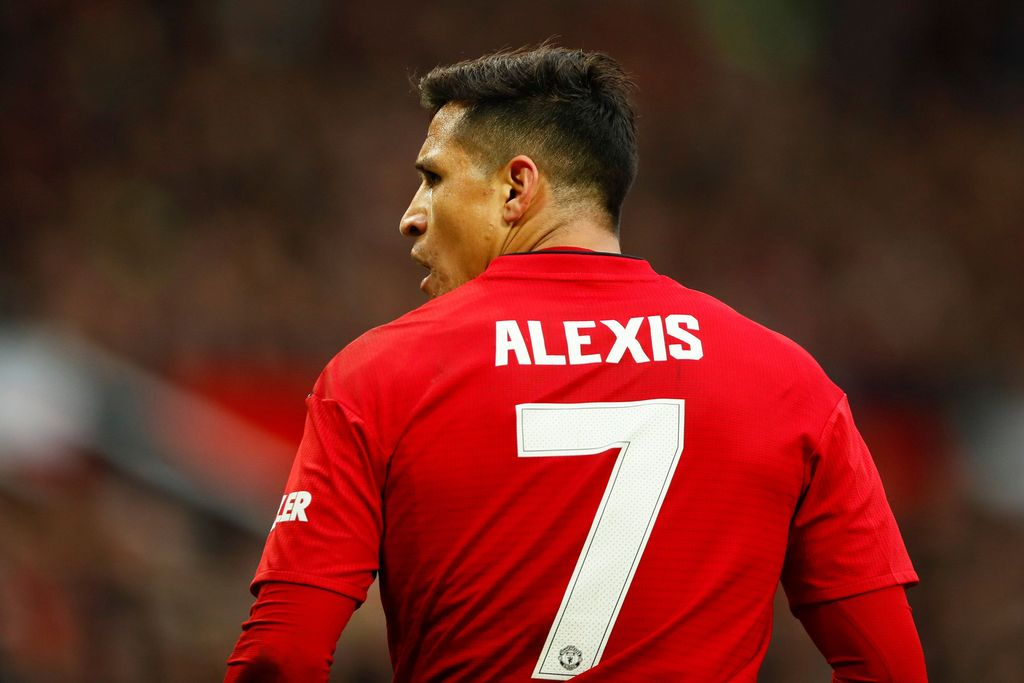 Soccer Football - FA Cup Third Round - Manchester United v Reading - Old Trafford, Manchester, Britain - January 5, 2019  Manchester United's Alexis Sanchez during the match   Action Images via Reuters/Jason Cairnduff