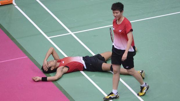 Tontowi Ahmad/Liliyana Natsir menelan kekecewaan karena gagal meraih medali di Olimpiade 2012.