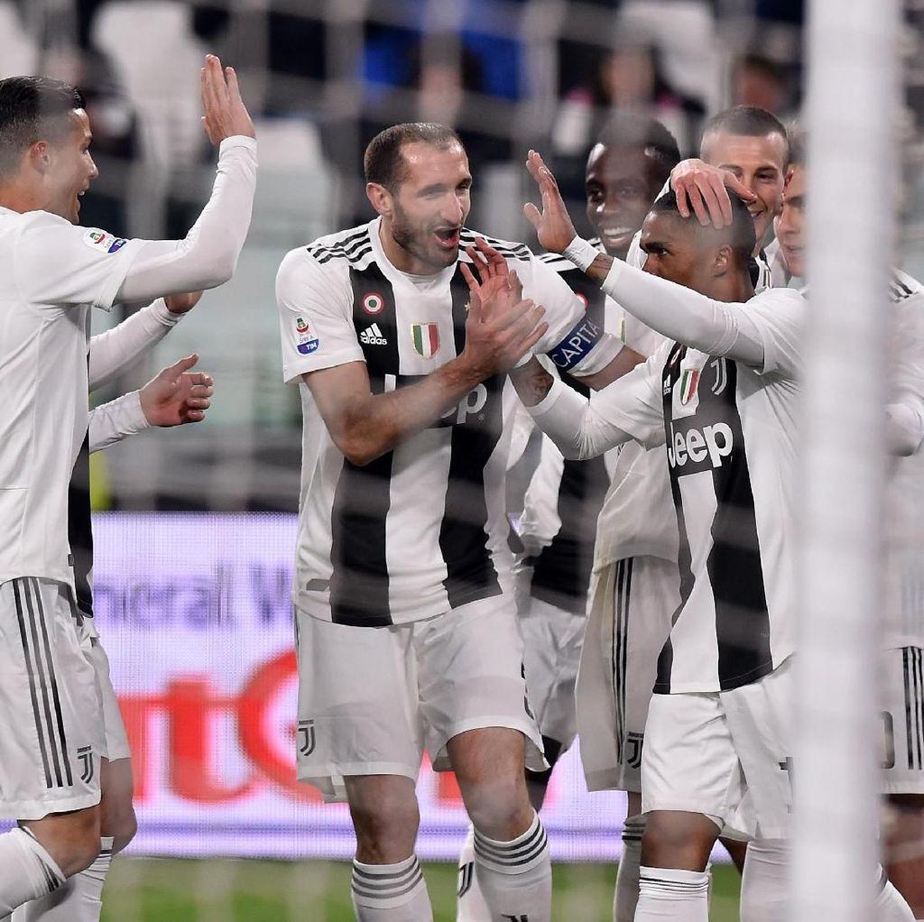 Juventus Matang, Allegri Senang