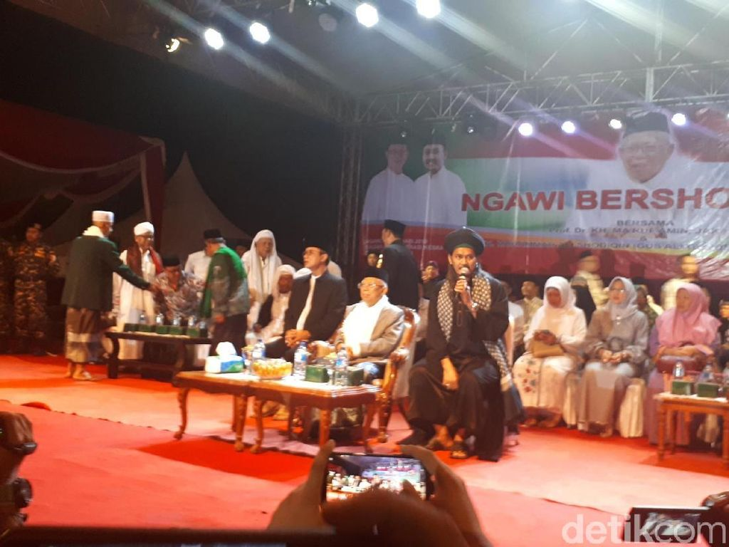 Maruf Amin Sebut Yang Tuduh Jokowi Anti-Islam Orang Bengong