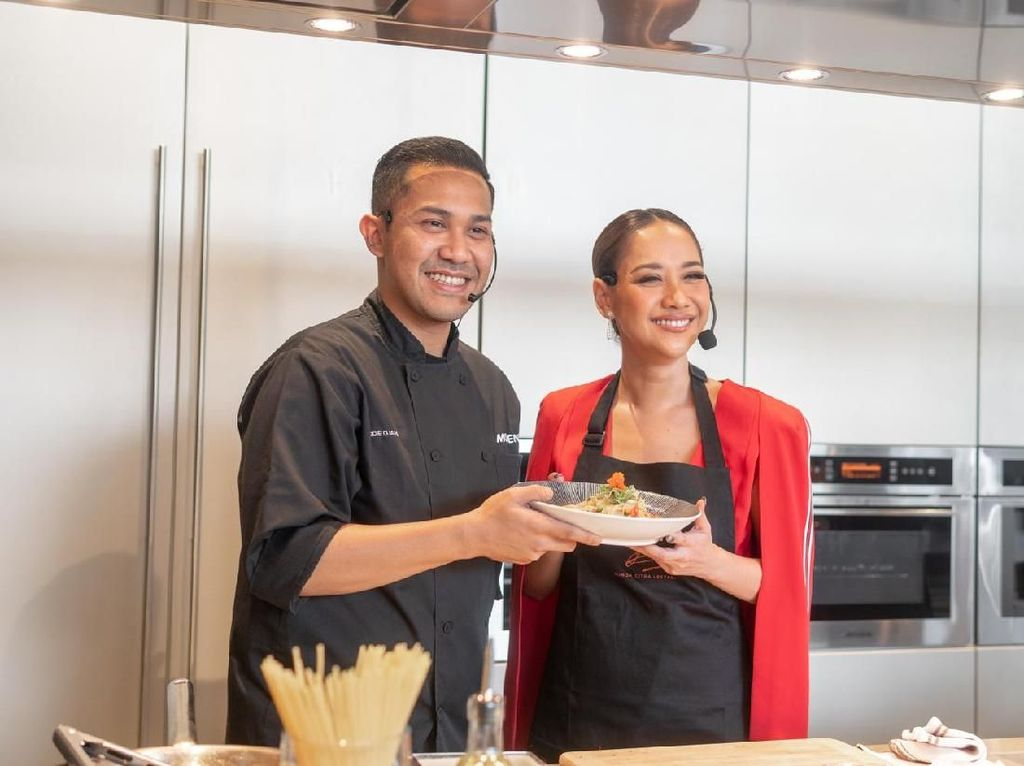BCL dan Chef Odie Djamil Akan Kolaborasi Bikin Masakan Italia di Surabaya