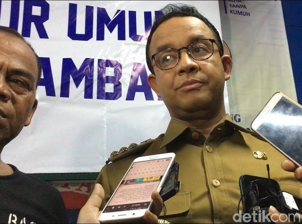Anies Kritik Palyja Tak Kooperatif Terkait Pengelolaan Air Jakarta