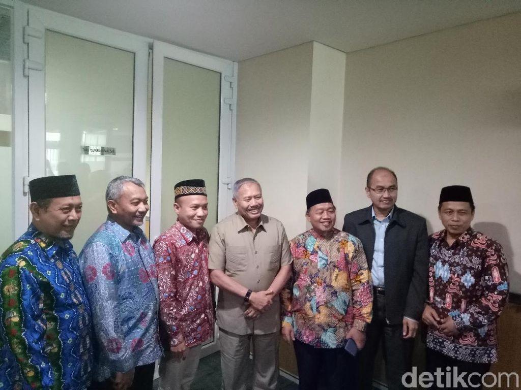 Kenalkan 3 Cawagub DKI, Fraksi PKS Silaturahmi ke Demokrat-PAN