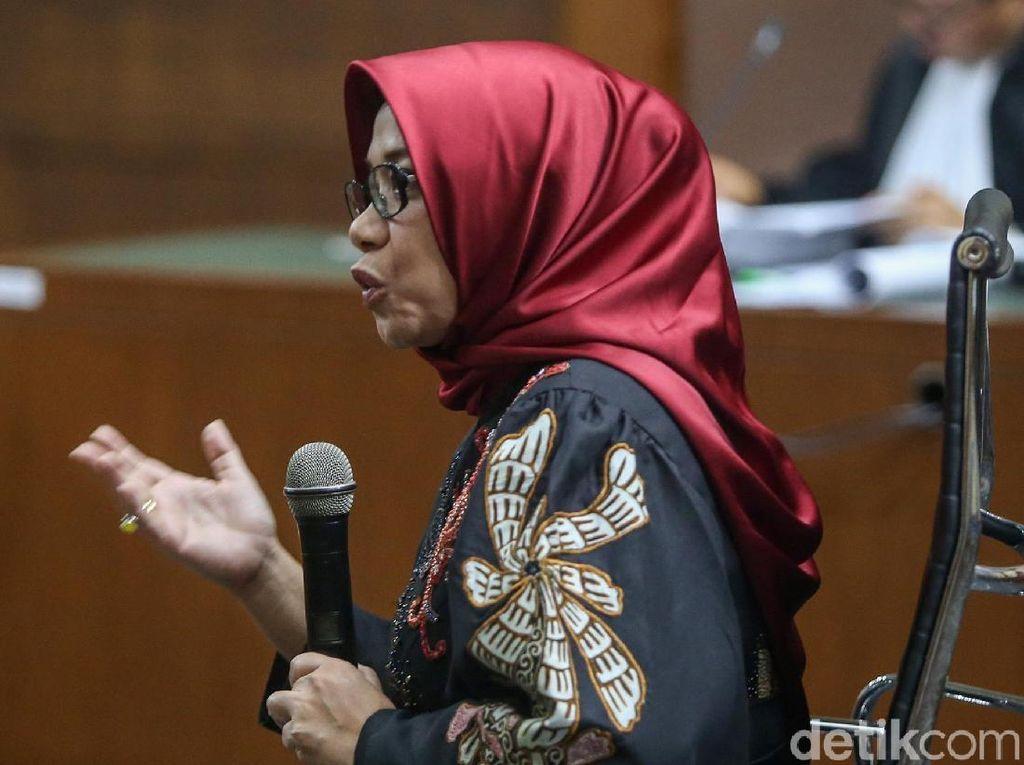 Eni Saragih Jalani Sidang Tuntutan Kasus Suap Proyek PLTU Riau-1