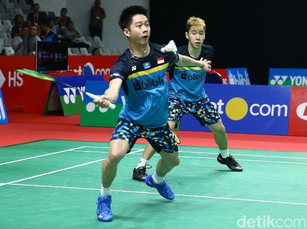 Kevin/Marcus Melangkah ke Babak Kedua Indonesia Masters