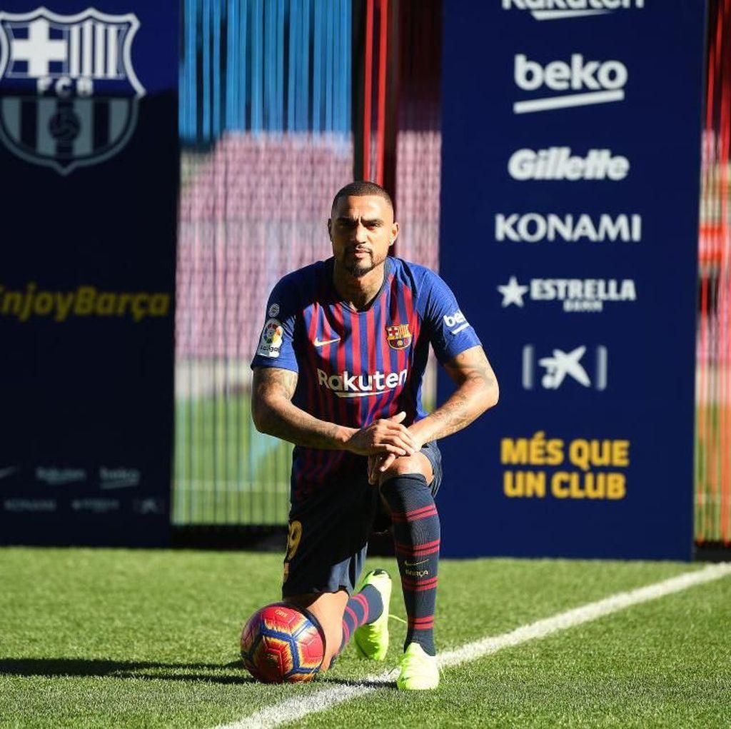 Dengar Ketertarikan Barca, Boateng: Rasanya Ingin Lari ke Barcelona