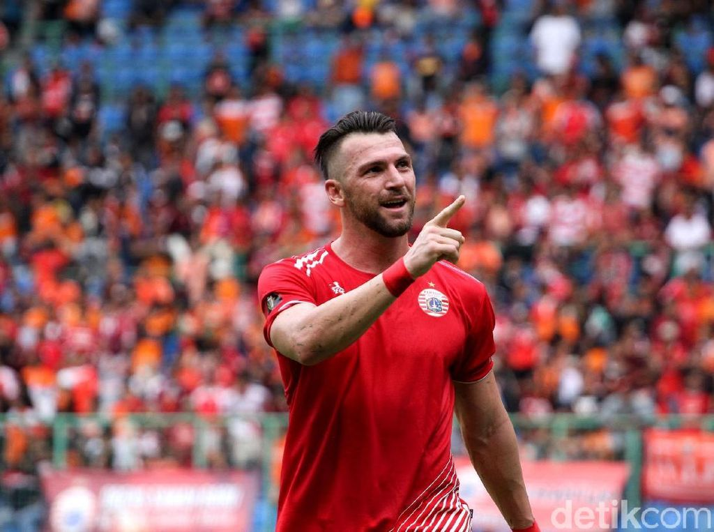 Simic Cetak 5 Gol, Persija Gulung 757 Kepri Jaya 8-2