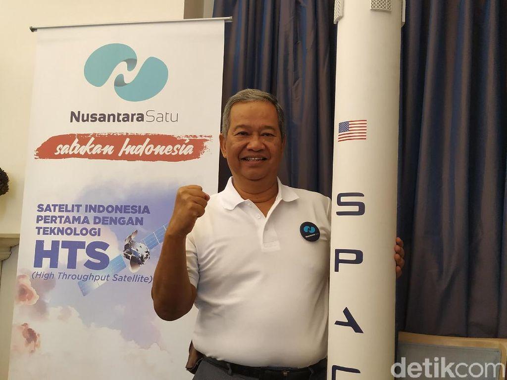 Nusantara Satu Mau Bantu 25 Juta Orang Terkoneksi Internet
