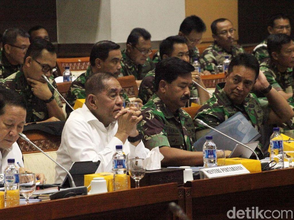 Rapat dengan Menhan-Panglima TNI, Komisi I Tanya Rencana Pembebasan Baasyir