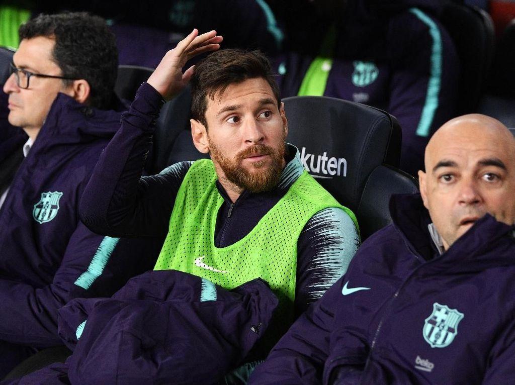 Messi Main atau Tidak, Madrid Selalu Siap