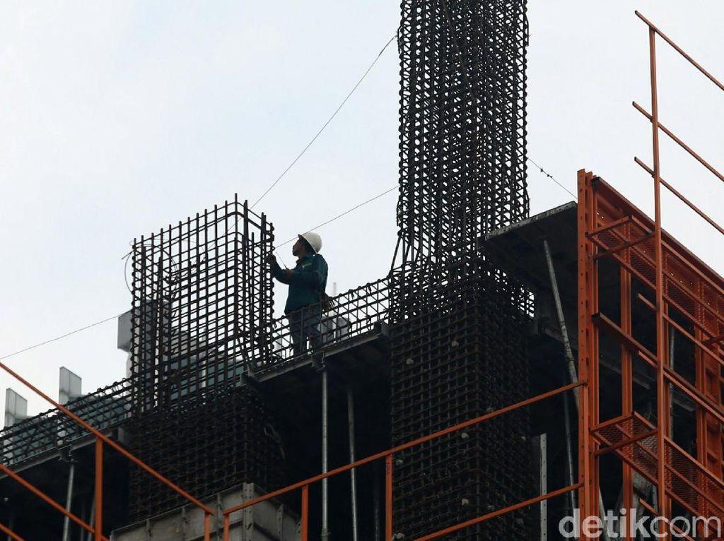 Pengusaha Konstruksi Ngeluh Banyak Baja Impor Bukan SNI