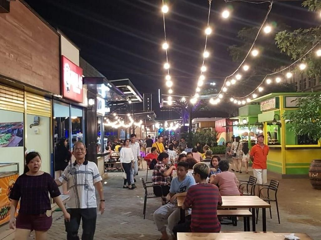 Diduga Tak Berizin, Nasib Food Court di Pulau Reklamasi Terancam