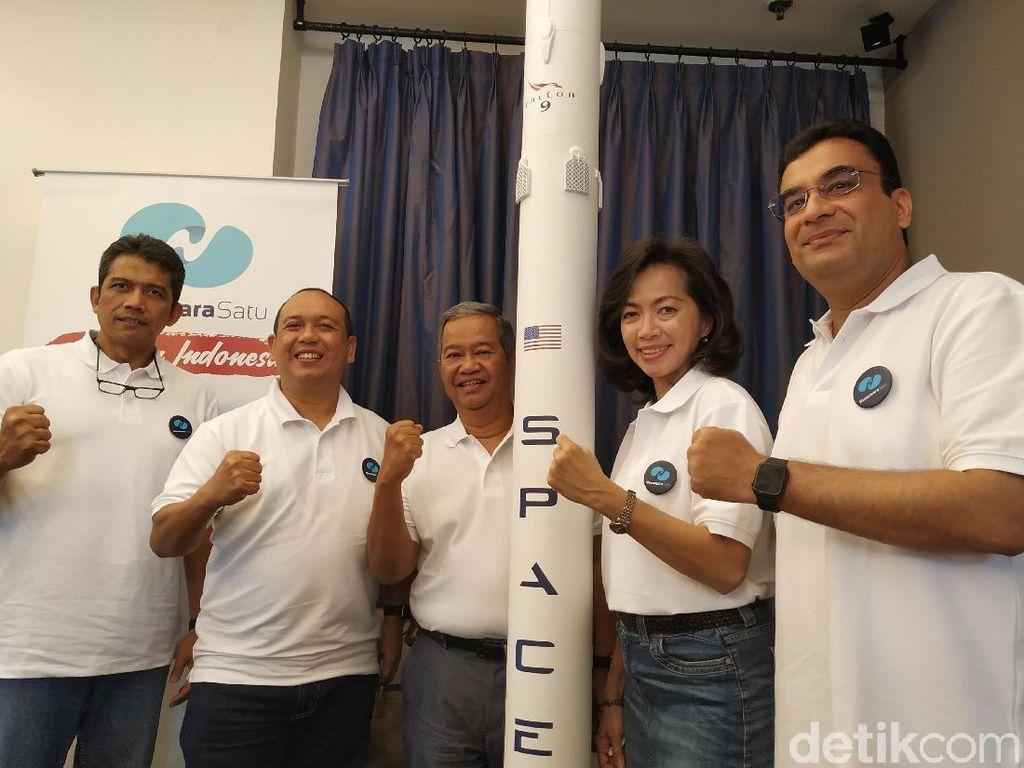 Satelit Internet Nusantara Satu Mengangkasa Bulan Depan