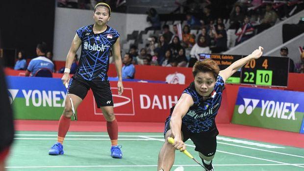 Greysia/Apriyani hanya punya waktu dua hari untuk istirahat jelang Indonesia Masters 2019.