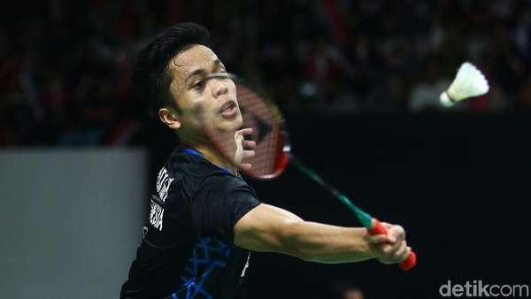 Anthony Ginting: Tak Mudah Juara Lagi di Indonesia Masters