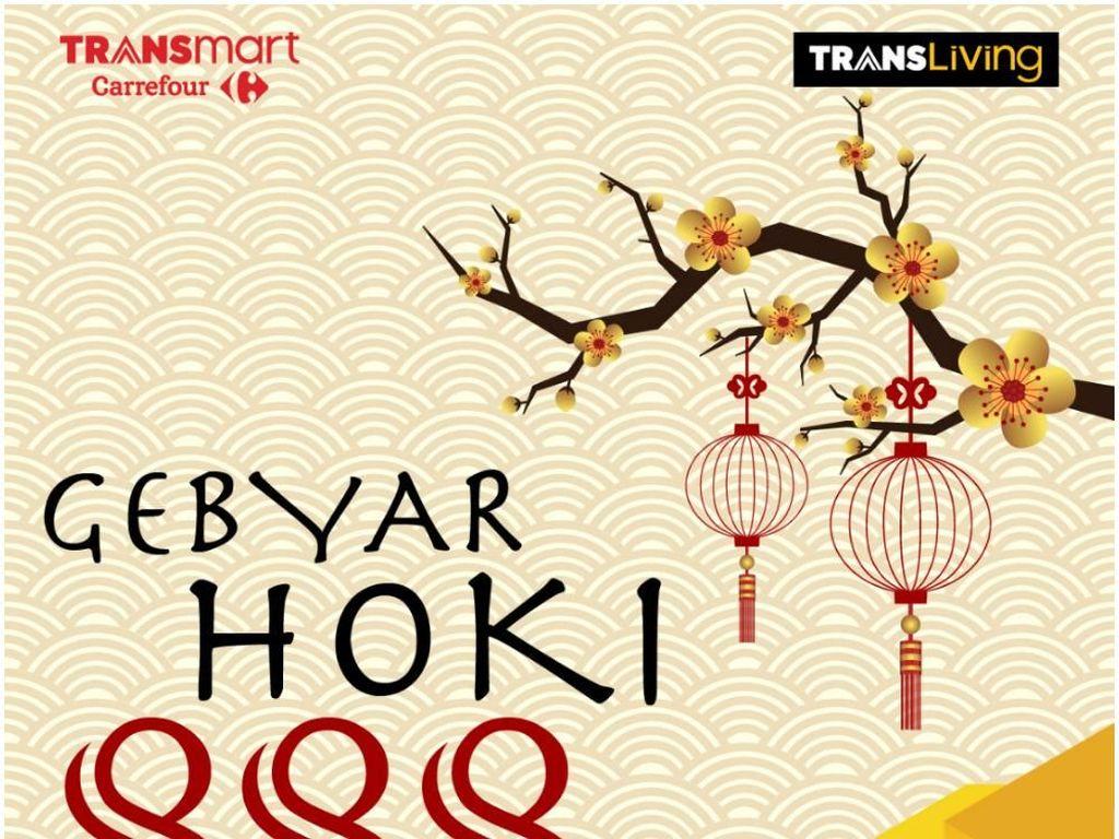 Sambut Tahun Baru Imlek dengan Promo Gebyar Hoki 888 di Trans Living