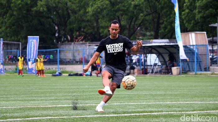Atep ingin kembali lagi ke Persib suatu saat nanti, tapi bukan sebagai pemain. (Foto: Satria Nandha/detikSport)