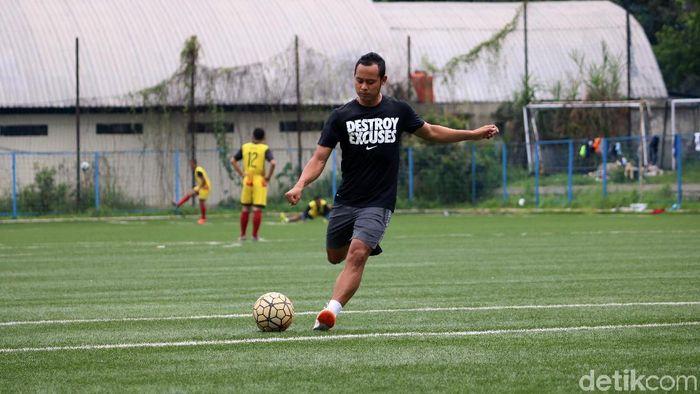 Atep bergabungd engan Mitra Kukar untuk Piala Presiden 2019. (Satria Nandha/detikSport)