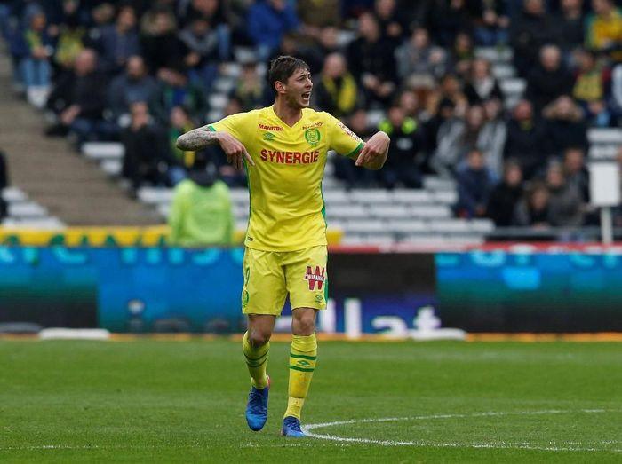 Nantes sudah tagih biaya transfer Emiliano Sala ke Cardiff City (Stephane Mahe/Reuters)